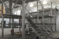 Изготовление ограждений ш7 перила из нержавеющей стали