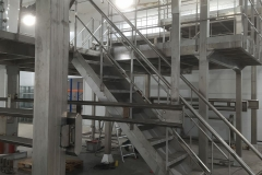 Изготовление ограждений ш8 перила из нержавеющей стали