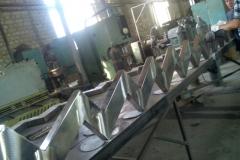 Металлические ограждения, расчет металлоконструкций