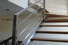 Лестницы на металлическом каркасе
