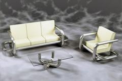 Мебель из нержавеющей стали, перила