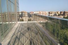 Ограждение для балкона стекло