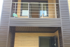 Стальные ограждения для балконов и лоджий