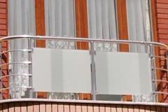 Ограждения для балконов из стали