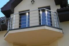 Ограждения из стали для лоджий балконов