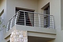Стальные ограждения для балконов