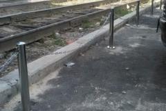 Ограждения из металла. парковочные столбики