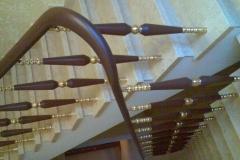 купить перила для лестниц из металла