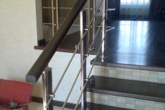 перила для лестниц цена из металла