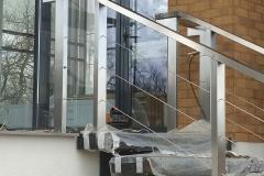перила лестница вход