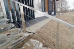 перила для лестницы вход