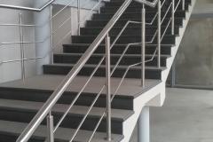 перила для лестниц изготовление