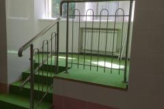 перила для лестниц детские металлические