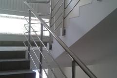 перила для лестниц материал