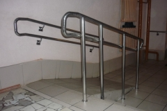 Изготовление поручней для инвалидов