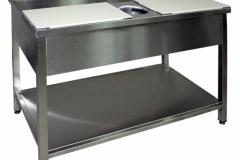 Ограждения из металла, столы для разделки