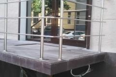 Заказать ограждения из нержавеющей стали для дома