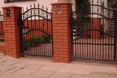 Ограждения из металла, ворота