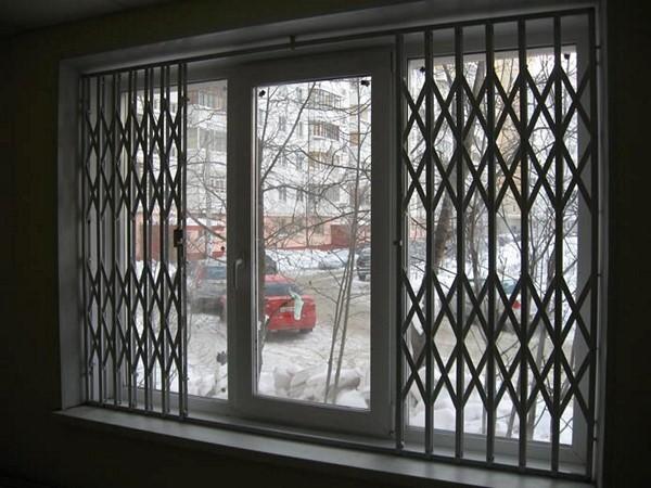 Где купить раздвижную решетку на окно