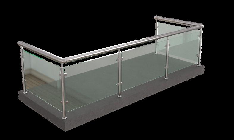 изготовление ограждений стеклянные конструкции